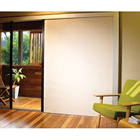 Retractable Insect Screen & Blind - Horizontal